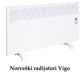 Norveski radijator Vigo akcija